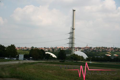 Kern-Kraftwerk Atom Neckarwestheim