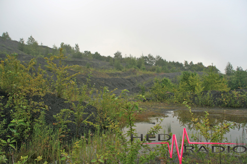 Kohle-Bergbau Abraum Quierschied-Göttelborn 2011