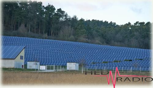 Solarfeld, Solarkraftwerk