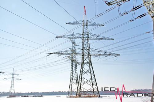 Stromleitung bei Raitersaich