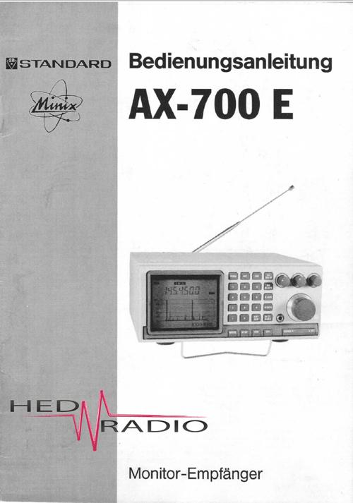 Standard Ax-400 инструкция - фото 5