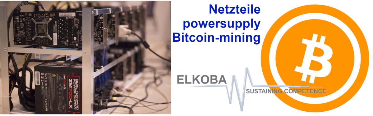 Netzteile Bitcoin-Mining
