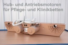 Motoren für Pflegebetten