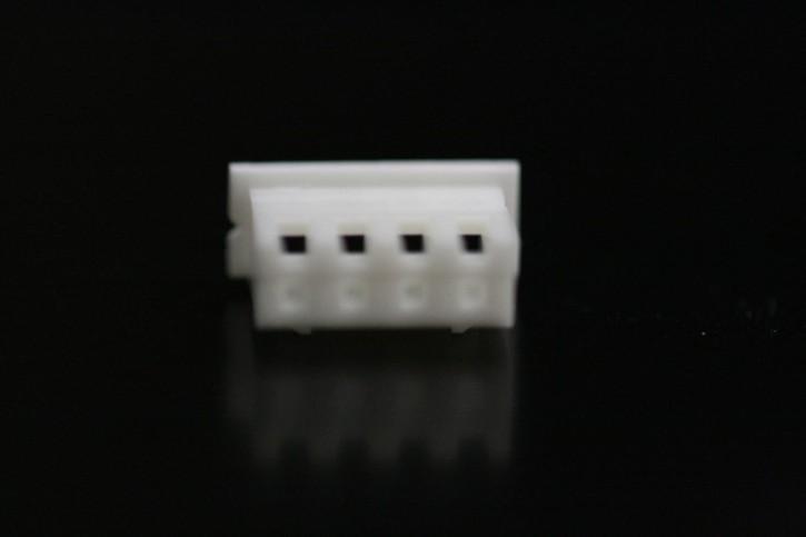 100 x Crimpsteckergehäuse 4pol 2,5mm passend für viele MeanWell-Netzteile