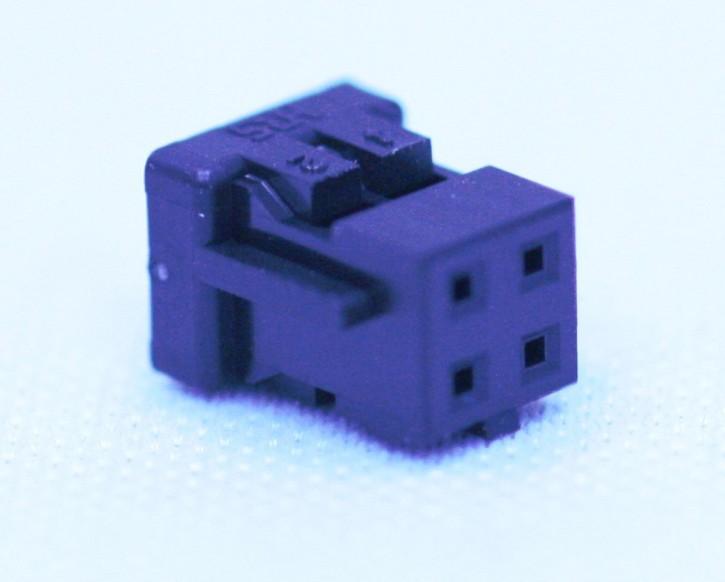100 x Crimpsteckergehäuse 4pol 2mm passend für viele MeanWell-Netzteile