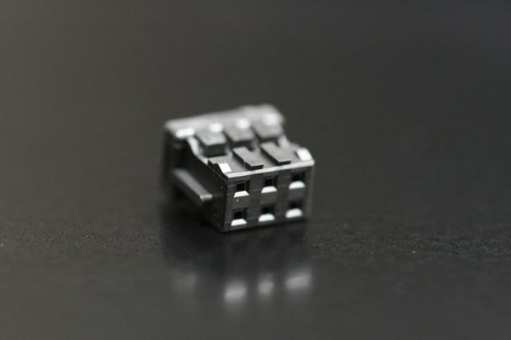 1000 x Crimpsteckergehäuse 6pol 2mm passend für viele MeanWell-Netzteile