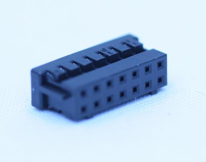 100 x Crimpsteckergehäuse 14pol 2mm passend für viele MeanWell-Netzteile