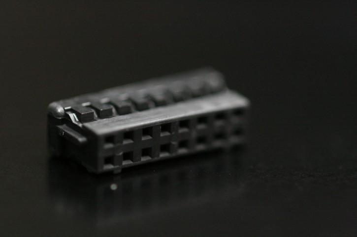 100 x Crimpsteckergehäuse 16pol 2mm passend für viele MeanWell-Netzteile