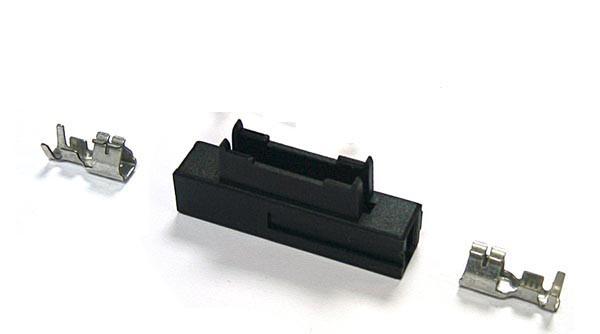 10 x Sicherungshalter für KFZ-Sicherung normale Bauform, Gehäuse