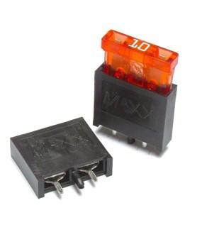 10 x Sicherungshalter für KFZ-Sicherung normale Größe 2pins