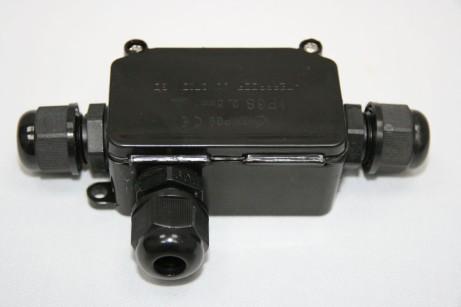 Wasserfeste Kabelverbinderdose mit Stich 3-pol 0,5mm2 bis 2,5mm2