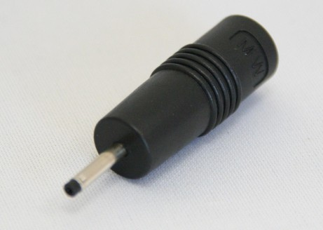 DC-Adapter von Kupplung P1J 2,1mm x 5,5mm Schaft 11mm auf Stecker 1,7mm x 4,75mm Schaft 11mm