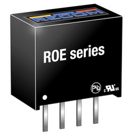 RECOM ROE-0515S DC-Wandler 15V / 0,066A
