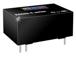 RECOM RAC03-24SC Einbaunetzteil 24V / 0,125A