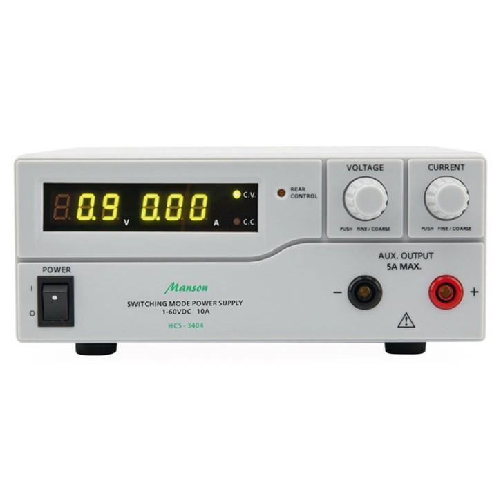 Labornetzteil Manson HCS-3102 einstellbar 0V bis 36V max. 5A, Festwertvorgabe, USB-Programmierung