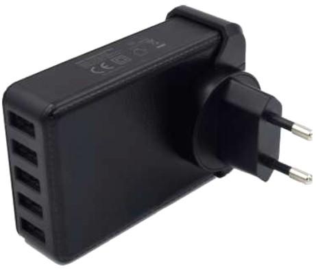 5V 8A USB-Netzteil mit 5 x USB A-Buchse