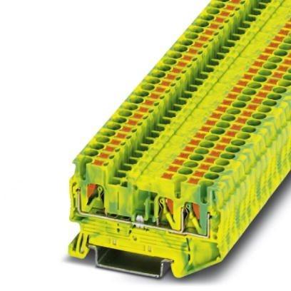 Reihenklemme Durchgang PT 2.5 TWIN PE Phoenix Contact 0,14mm2 bis 2,5mm2