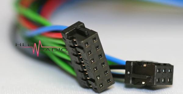 Kabelsatz 6pol und 12pol je 30cm zu RSP-2000