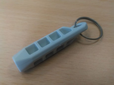 Magnetstift einzeln für alle Liegen mit silbernem oder weißem Steckstift in Freischaltbox