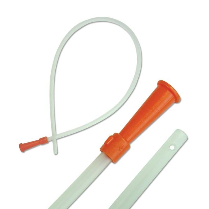 Absaugkatheter weich steril 2 Augen gerade 50 cm CH.16 orange