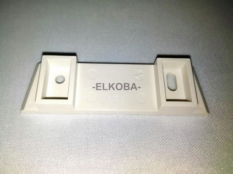 Aufnahmeplatte für Display Rollstuhlwaage SECA 675 zur Montage des Displays an die Wand
