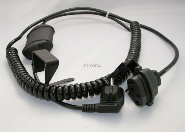 Völker Netzanschlusskabel mit Netzfreischaltung und Steckanschluss zu Motor Okimat 480 oder Ilcomat 480, Typ K2106