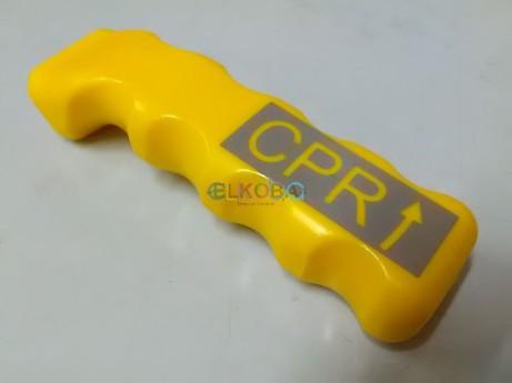 Völker CPR Griff aufsteckbar, alte Version rot, jetzt in gelb, RECHTS