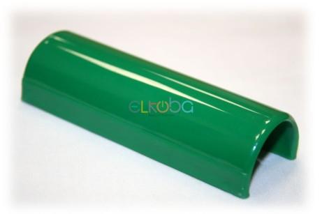 Völker Ersatzteil Clip Namensschild für Pflegebett oder Klinikbett, rund, passend für Holmdurchmesser 30mm, rund, grün