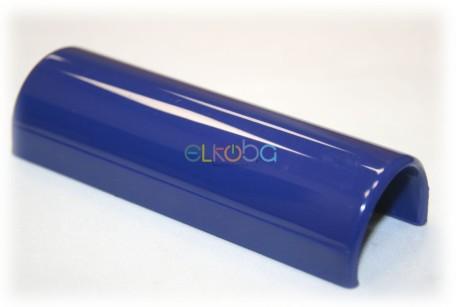 Völker Ersatzteil Clip Namensschild für Pflegebett oder Klinikbett, rund, passend für Holmdurchmesser 30mm, rund, blau