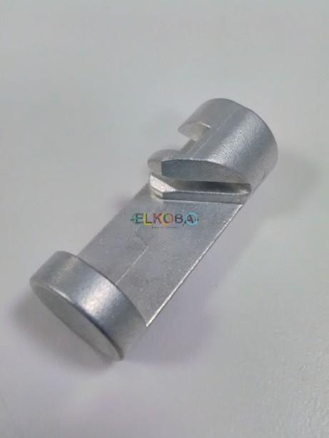 Stiegelmeyer Druckknopf Seitengitter Metall silber LINKS