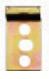 ABB Gerätetragschiene Hutschiene DSW1 EN 60715 35x7,5 Länge 17,5mm