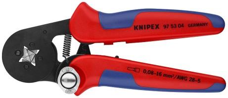 Crimpzange für Aderendhülsen 0,08 bis 6mm² Knipex 97 53 04