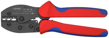 Crimpzange für isolierte Steckverbinder 0,5 bis 6mm² Knipex 97 52 36