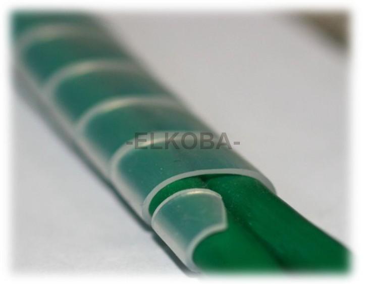 Spiralband für Kabel 1,5 bis 10mm Länge 10m weiß