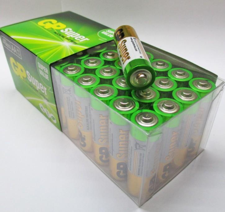 40er-Pack AAA-Batterien, LR3, Großpackung Sparpack