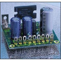 12V Audioverstärker 2x6W, Stereo, Bausatz