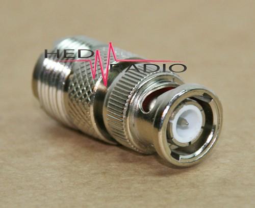 Adapter BNC-Stecker auf UHF-Buchse