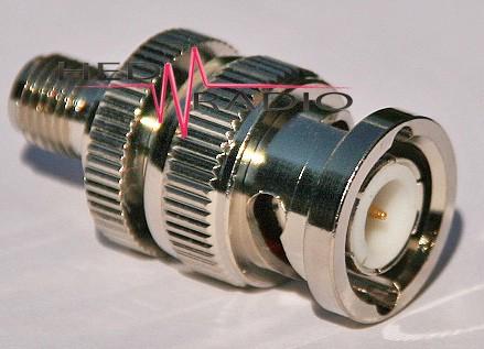 Adapter BNC-Stecker auf SMA-Buchse