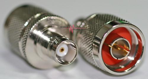 Adapter N-Stecker auf BNC-Buchse