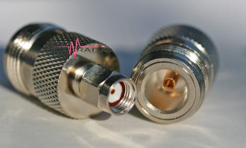 Adapter SMA-Reverse-Stecker auf N-Buchse