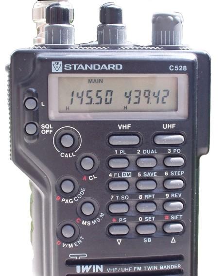 STANDARD C-520 C528 Funkgerät ARCHIV