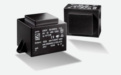 Transformator Hahn EI48 10VA 230V 18V 556mA Gehäuse K