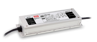 MeanWell ELG-300-24A LED-Netzteil 24V / 12A 244x71x38mm