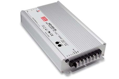 MEANWELL HEP-600-36 Einbaunetzteil 36V / 16,7A