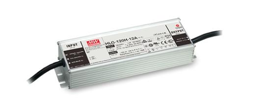 MeanWell HLG-120 IP65 Alu-Schaltnetzteil