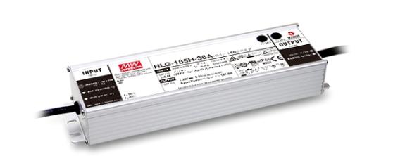 MeanWell HLG-185 IP65 Alu-Schaltnetzteil