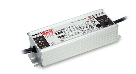 MeanWell HLG-60H-C IP65 Alu-Schaltnetzteil