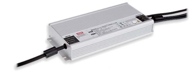200 x MeanWell HVGC-1000A-L-DA LED-Netzteil V / 2,8A 310x144x49mm