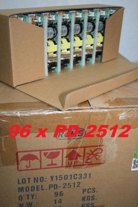 96 x Netzteil MeanWell PD-25-12 +12/-12V max 24W - Sonderposten