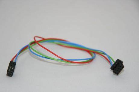Kabelsatz mit 2 x 8pol-Buchse 30cm zu RSP-2400 und RSP-3000 für parellel-Betrieb